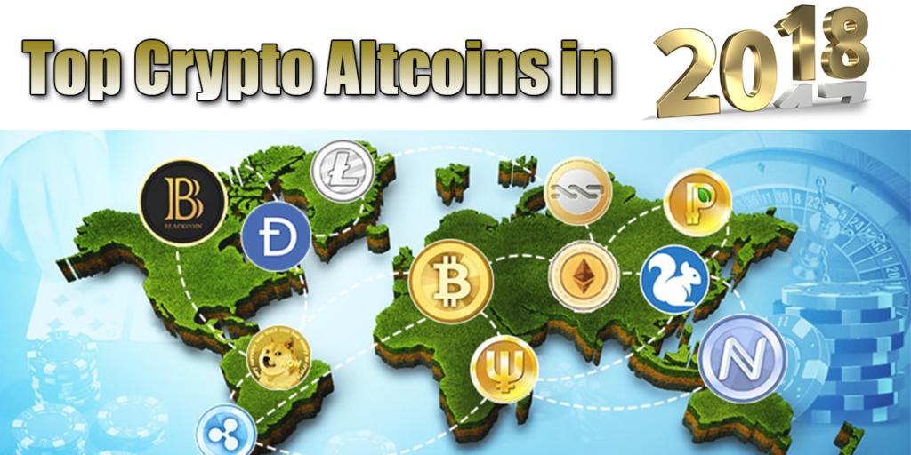 Altcoins Take 2018 By Storm